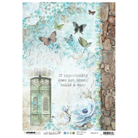 Studio Light Jenine's Mindful Art - Decoupage Rice Paper A4 - NR. 10 (RICEM10)