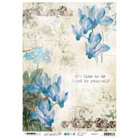Studio Light Jenine's Mindful Art - Decoupage Rice Paper A4 - NR. 11 (RICEM11)