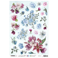 Studio Light Jenine's Mindful Art - Decoupage Rice Paper A4 - NR. 13 (RICEM13)