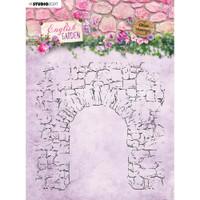 Studio Light - English Garden - Background Stamp - Stone Archway (STAMP434)