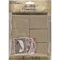 Tim Holtz Ideaology - Match Boxes & Labels 18/Pkg (TH94050)