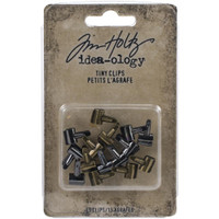 Tim Holtz Idea-Ology - Fasteners - Tiny Clips 15/Pkg (TH94025)