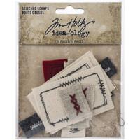 Tim Holtz Idea-Ology - Stitched Scraps 14/Pkg (TH94035)