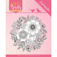 Find It Trading - Jeanine's Art - Happy Birds - The Circle Of Flowers (JAD10084)