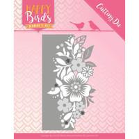 Find It Trading - Jeanine's Art - Happy Birds - Flower Edge (JAD10085)