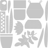 Sizzix - Thinlits Die Set 16/Pkg - Dimensional Botanicals (664372)