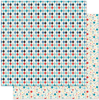 Authentique - Double Sided Cardstock Pad 6x6 24/Pkg - Hooray (HRY010)
