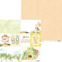 P13 - Paper Pad 12x12 - Sunshine (P13-SUN-08)