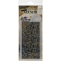 "Tim Holtz / Stampers Anonymous Layered Stencil 4.125""X8.5"" - Tangles (THS 139)"