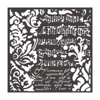 Stamperia - Stencil 7.08x7.08 - Wallpaper Fantasy (KSTDQ37)
