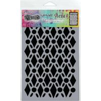 """Dyan Reaveley Dylusions Small Stencil 5""""X8"""" - Fancy Floor (DYS 71440)"""