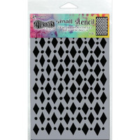 "Dyan Reaveley Dylusions Small Stencil 5""X8"" - Court Jester (DYS 71433)"
