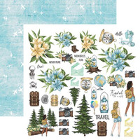 13@rts - 12x12 Paper Collection 6/Pkg - Travel the World (ARTTW00)