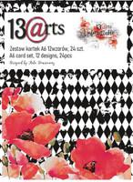 13@rts - Paper Card Set A6 24/Pkg - Unforgettable (ARTUN08)