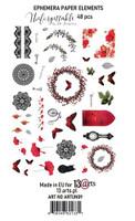 13@rts - Ephemera Die Cuts 48/Pcs - Unforgettable (ARTUN09)