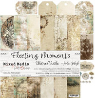 Craft O Clock - 12x12 Paper Collection 6/Pkg - Fleeting Moments (CC-ZD-HS-MM01)