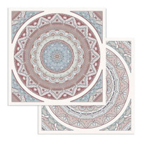 Stamperia - Collection Paper Pad 12 x 12 - 26 Secrets of India (SBBL71)