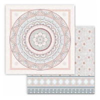 Stamperia - Double Sided Cardstock 12x12 - 26 Secrets of India - Mandala Lace (SBB691)