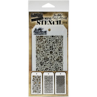 Tim Holtz - Mini No.46 Stencils - Stampers Anonymous-#46 (MTS - 46)