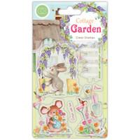 Craft Consortium - Clear Stamp Set A5 - Cottage Garden - Green Fingers (CSTMP032)
