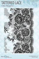 Blue Fern Studios - Clear Stamp - Jane's Memoirs - Tattered Lace (143472)