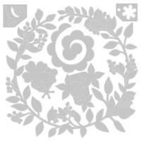 Sizzix - Olivia Rose - Thinlits Die Set 6/Pkg - Wedding Wreath (663862)