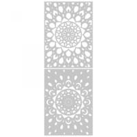 Sizzix - Jessica Scott - Thinlits Die Set 4/Pkg - Kaleidoscope (663857)