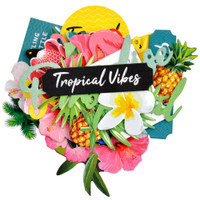 Kaisercraft - Cardstock Die Cuts - Sunkissed - Tropical Vibes (CT979)