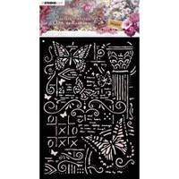 Studio Light - Jenine's Mindful Art A6 Stencil - NR. 06 (MASKJM06)