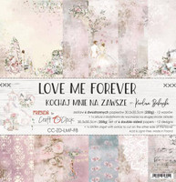 Craft O Clock - 12x12 Paper Collection 6/Pkg - Love Me Forever (CC-ZD-LMF-F8)