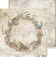 Craft O' Clock - 12x12 Paper Collection 6/Pkg - Hummingbird Song (CC-ZD-HBS-F6)