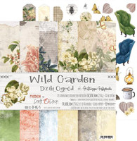 Craft O' Clock - 12x12 Paper Collection 6/Pkg - Wild Garden (CC-ZD-WG-F5)