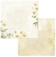 49 and Market - Scrapbooking Paper Pack 12x12 - Vintage Artistry - Butter (VAC32617)
