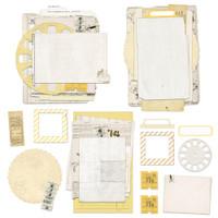 49 and Market - Collage Stack - Vintage Artistry - Butter (630628)
