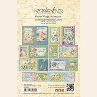Graphic 45 - Ephemera & Journaling Cards - Fairie Wings (G4502087)
