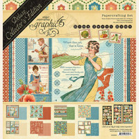 """Graphic 45 - Deluxe Collector's Edition Pack 12""""X12"""" - Home Sweet Home (G4502090)"""