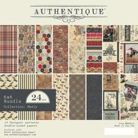 Authentique - Paper Pad 6x6 24/Pkg- Manly