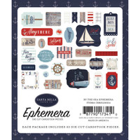 Carta Bella - Ephemera Icons- By The Sea (CBBS120024)