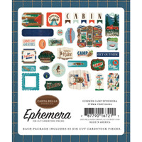Carta Bella - Summer Camp - Ephemera Icons (CBSC119024)