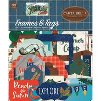 Carta Bella - Summer Camp - Frames and Tags 33/Pkg (CBSC119025)
