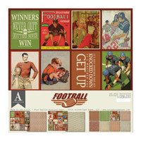 Authentique - All-Star Paper Pack - Football