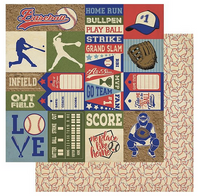 Authentique - All-Star Paper Pack - Baseball (ALL019)