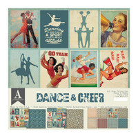 Authentique - All-Star Paper Pack Dance & Cheer (ALL023)