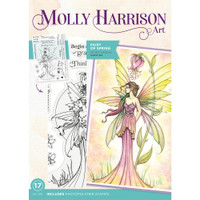 Crafter's Companion - Stamps By Molly Harrison - Fairy of Spring (MHFAIRS)