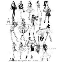 AB Studios - Transparent foil - 003 (TFoil-003)
