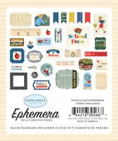 Carta Bella - Ephemera Icons 33/Pkg - School Days (DS118024)