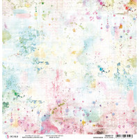 Ciao Bella - Double Sided Paper 12x12 - Microcosmos - Wildflowers (CBSS117)