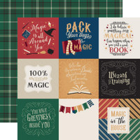Echo Park - Double Sided Cardstock Collection Pack 12x12 - Witches & Wizards (AW217016)