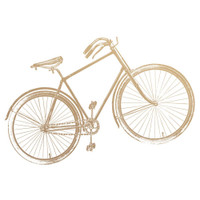 Couture Creations - New Adventures - Mini Stamp - Vintage Bicycle (CO727779)