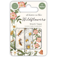 Craft Consortium - Washi Tape - At Home in the Wildflowers (CWTPE005)